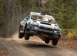 subaru sti rally car david higgins completes perfect season in his subaru wrx sti