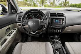 mitsubishi outlander interior 2016 mitsubishi outlander sport refreshed with
