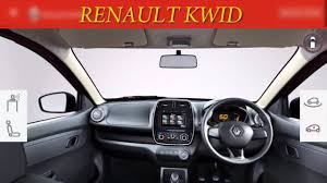 renault kwid black colour renault kwid 1 0l interior and exterior 3d view with color change