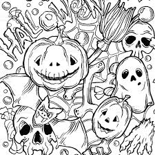 free repeatable halloween background seamless halloween pattern with horror elements stock vector art