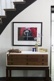 Entry Way Table Furnitures Modern Entryway With Large Wall Mirror And Small