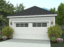 22x22 2 Car 2 Door Detached Garage Plans by 10471detached 2 Car Garage Plans With Loft Detached Carport