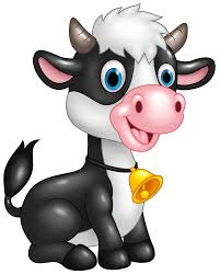 free cartoon cow clipart collection