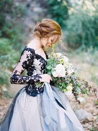 edgy black lace wedding inspiration