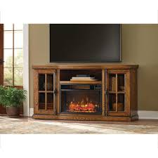 home decorators collection manor place 67 in tv stand w bluetooth electric fireplace in