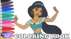 disney princess jasmine coloring book pages aladdin princess