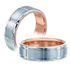 men s wedding bands verragio vw 7011 satin finish mens wedding band