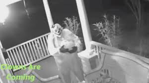 scary clown sightings compilation october 2016 halloween youtube