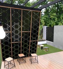outdoor feature wall panels