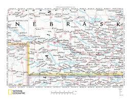 Map Of Counties In Nebraska Platte River Medicine Creek Drainage Divide Area Landform Origins