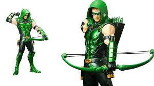 green arrow artfx statue dc universe animated figures infinity