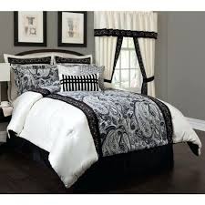 Black And White King Bedding Comforter Set Black And White U2013 Rentacarin Us