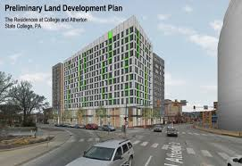 state college pa plans submitted for possible new high rise in