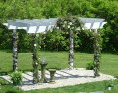 Pergola Wedding Decorations by Wedding Pergola Google Search Arbors Archs Pinterest
