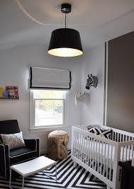 Black White Striped Rug Stunning Baby Boy Nursery Room Design With Black White Striped Rug