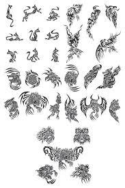 best 25 tribal animal tattoos ideas on pinterest tribal animals