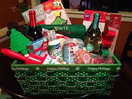 baking gift basket christmas gift basket charity raffle gift basket wine gift