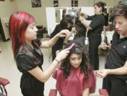 young cosmetologist is styling for the future san antonio