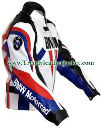 motorcycle racing jacket replica bmw motorrad motorcycle bikers real leather jacket