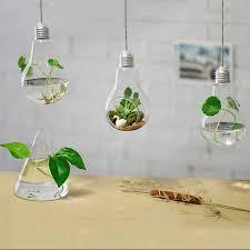 hanging l glass vase hydroponic vases fashion home decoration