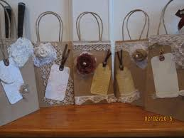 wedding guest bags new item sale 5 assorted rustic shabby chic hotel wedding guest