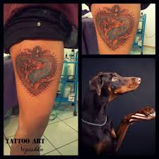 anežka faltusová isis dobermanpinscher doberman tattoo