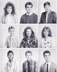 high school year books 1980s yearbook pictures like totally 80s