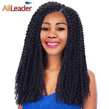 crochet hair extensions online shop alileader kanekalon synthetic fiber crochet braids