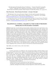 iers de cuisine en r ine traditional cuisine a major factor to pdf available