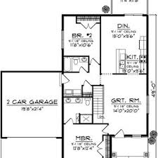 small space floor plans floor plan tworoom house plans with garage open projects ideas in