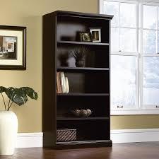 Sauder Appleton Computer Desk by Amazon Com Sauder Library Bookcase Estate Black Finish Kitchen
