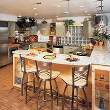 bar kitchen island kitchen island chairs spacious modern kitchen with cabinetry