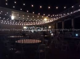 Patio Cafe Lights by Gorgeous Outdoor Cafe Globe Lighting Design Over The Patio