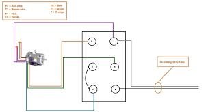 forward reverse starter wiring diagram manual starter wiring