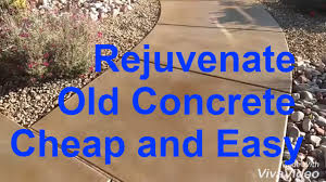 Stain Old Concrete Patio by Acid Wash Concrete Acid Stain Old Concrete General Contractor