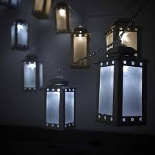 battery operated mini lantern string light led string lights