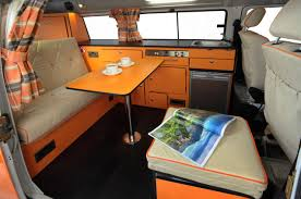 volkswagen van hippie interior interior de kombi 1 diseños camper pinterest vw bus vans