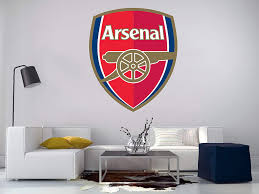 amazon com arsenal logo wall decal football soccer removable