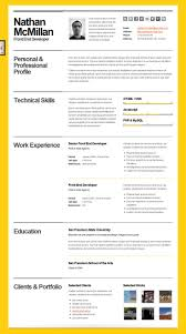 Html Resume Examples 202 Best Resume Templates Images On Pinterest Resume Cv Resume