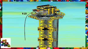 lego technic tower crane building instructions the best crane 2017