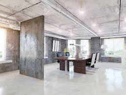 modern office interior 3d design concept stock photo picture and