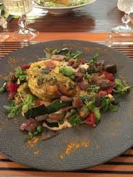 cuisine du dimanche avignon stuffed zucchini flowers picture of la cuisine du dimanche
