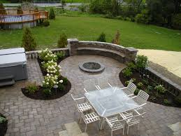 simple patio landscaping ideas ideas personable simple