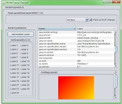 java null layout manager swing java how to add jtable in jpanel with null layout stack overflow