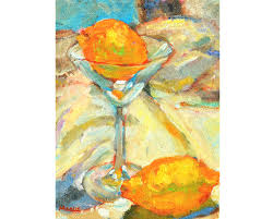 martini glass acrylic painting oil painting my90acres
