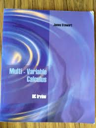 multi variable calculus uc irvine james stewart 9781426634826