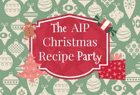 aip christmas recipe party little bites of beauty