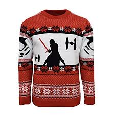 christmas jumper official wars kylo ren christmas jumper sweater at