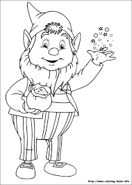 noddy coloring picture noddy pinterest clipart images