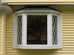 amusing pictures of bay windows with curtains images decoration